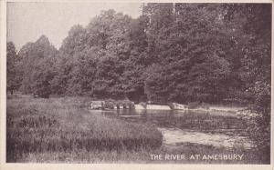 The River At Amesbury (Wiltshire), England, UK, 1910-1920s