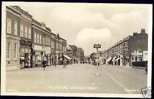 surrey, WALLINGTON, Woodcote Road (1950s) Frith's RPPC