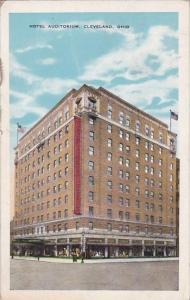 Ohio Cleveland Hotel Auditorium