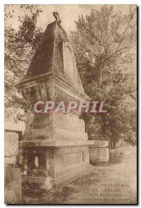 Postcard Ancient Arles Alyscamps Tomb