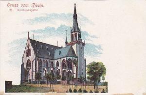 Rochuskapelle, Gruss Vom Rhein (Rhineland-Palatinate), Germany, 1900-1910s