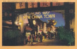 Ginling Way at New China Town - Los Angeles CA, California - Linen