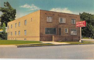Limon Colorado Midwest Motel Linen Antique Postcard (J32208)