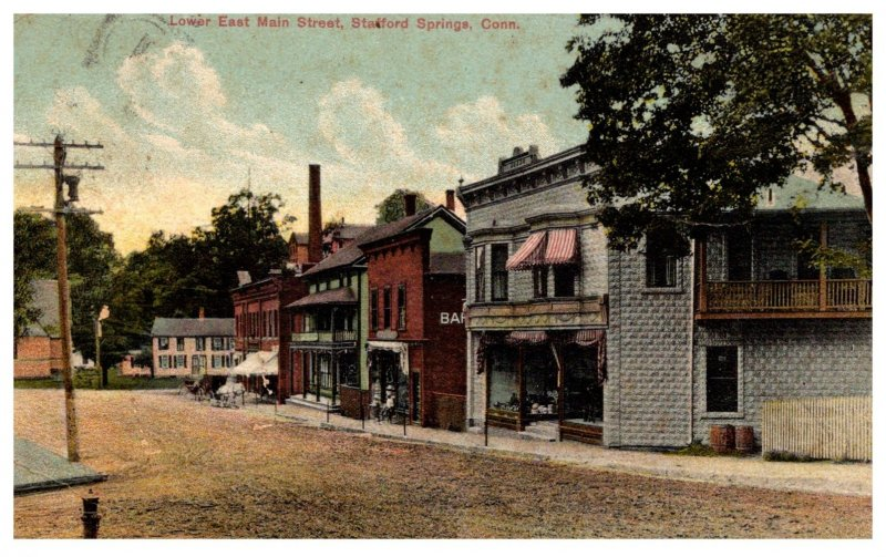 Connecticut  Stafford Springs , Lower East Main Street