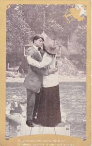 Couple kiss on pier, cupid , 00-10s #1