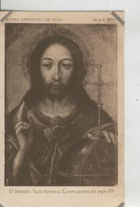 Postal 010215: Vich: museo episcopal: El Salvador, pintura flamenca