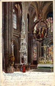 CPA AK Nurnberg- Lorenzkirche, Das Sacramentshauschen GERMANY (942816)