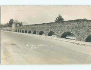old rppc NICE VIEW Morelia - Valladolid - Michoacan Mexico i3338