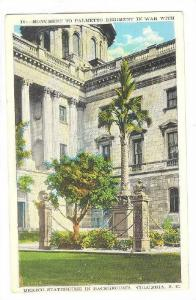 Monument To Palmetto Regiment In War With Mexico, Statehouse In Background, C...