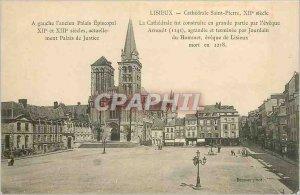 Old Postcard Lisieux Cathedrale Saint Pierre