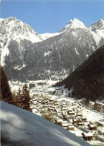 Partenen im Montafon gegen Breitspitze und Valluela Vorarlberg