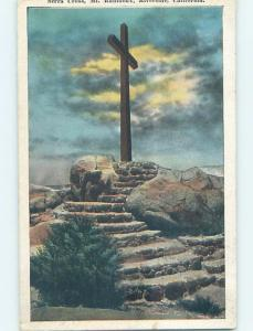 Unused W-Border JESUS CROSS Riverside - Los Angeles California CA HM8406