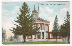 Court House Rochester Minnesota 1910c postcard