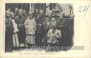 Vietnam, Viet Nam,  Nhân Vật Tonkin Hanoi, Notables en Priere