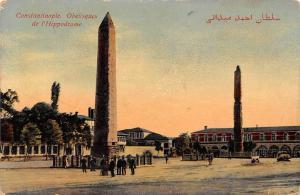 Turkey Istanbul, Constantinople, Obelisques de l'Hippodrome, Obelisks