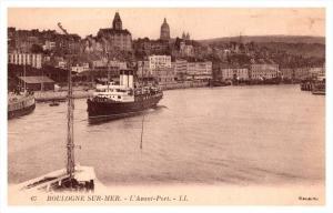 Boulogne sur Mer     L'Avant Port