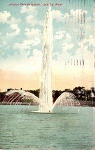 Washington Seattle Lincoln Park Reservoir 1907