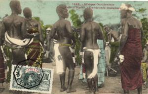 CPA Senegal Ethnic Nude Fortier - 1486.Cote d'Ivoire - Danseues Indigénes(71109)