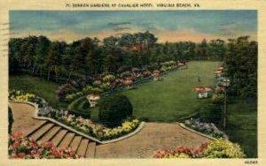 Sunken Gardens, Cavalier Hotel - Virginia Beachs, Virginia