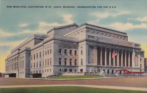 New Municipal Auditorium In Saint Louis Missouri 1942