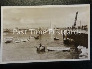 Cornwall ST IVES West & Smeatons Pier - Old RP Postcard by R.A. Postcard Ltd