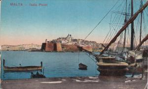 MALTA, 1900-1910's; Isola Point