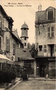 CPA  Brive - Vieux College - La Tour de l'Horloge  (692295)