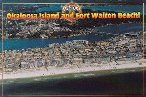 Hi From Okaloosa Island And Fort Walton Beach Florida