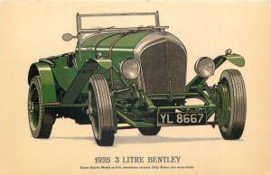 Bentley 3 Litre 1925 model