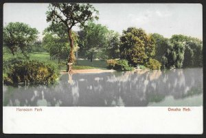 Hanscom Park Omaha Nebraska Unused c1905