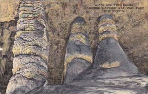 Giant And Twin Domes Carlsbad Caverns National Park New Mexico