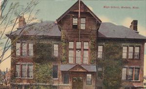 High School, HUDSON, Massachusetts, 1900-1910s