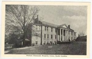 Wallace Thompson Hospital, Union, South Carolina, 1930s