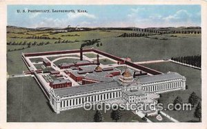 US Penitentiary Leavenworth, Kansas USA Prison Unused