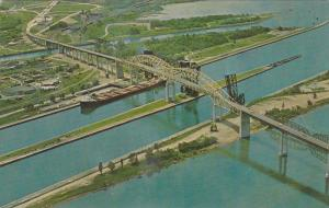 Sault Ste. Marie International Bridge , Ontario , Canada , 50-60s