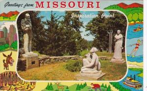 Missouri Greetings Showing Inspiration Point
