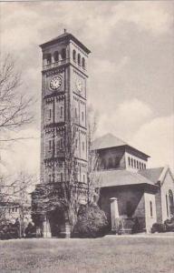 Virginia Hampton The Clock Tower And Church Hampton Institute Albertype