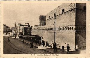 CPA AK BARI Castello Medioevale Sud-Est. ITALY (531563)