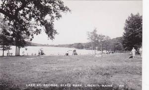 RP: Lake St George State Park , LIBERTY , Maine , 30s