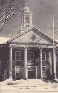 Maine Bethel Hanscom Hall Gould Academy Artvue