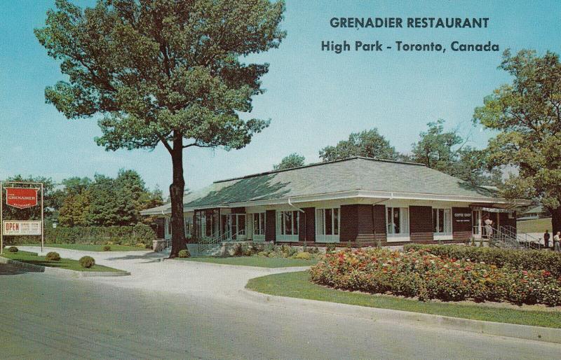 TORONTO, Ontario , 1950-60s ; Grenadier Restaurant , High Park