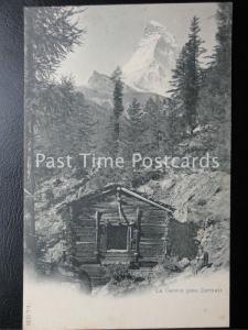 c1908 - Le Cervin pres Zermatt - Switzerland