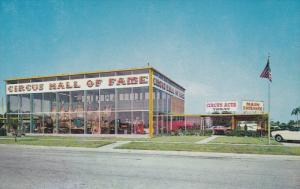 SARASOTA, Florida; Circus Hall of Fame, 40-60s