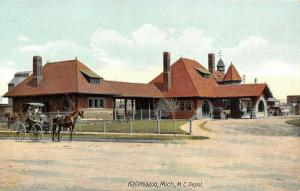Michigan Central Depot: Kalamazoo~Buggy Riders Watch Camera~Automobiles SHARP