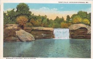 Missouri's National Health Resort Tryst Falls Excelsior Springs Missouri 1926