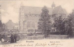 Belgium Brussells Bruxelles L Eglise Du Sablon