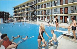 New Jersey  Wildwood  Kona Motor Inn Poolside