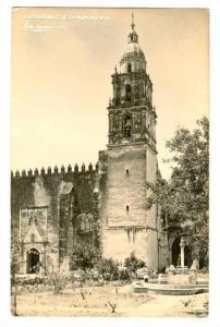 RP; Fountain, Cathedral, Cuernavaca, Morelos, Mexico, 10-20s