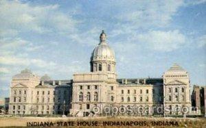 Indiana state house, Indianapolis, Indiana, USA United States State Capital B...