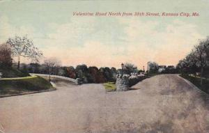 Missouri Kansas City Valentine Road North From 38th Street 1913